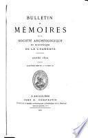Mémoires, Bulletins et mémoires