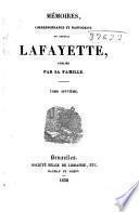Mémoires, correspondance et manuscrits du général Lafayette: Révolution française