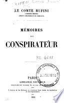 Mémoires d'un conspirateur