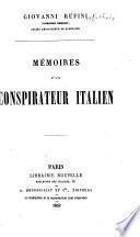 Memoires d'un conspirateur Italien