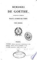 Mémoires de Goethe