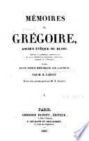 Mémoires de Grégoire