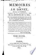 Mémoires de J. B. Louvet