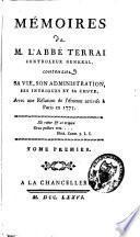 Mémoires de l'abbé Terrai