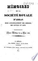 Mémoires de l'Académie d'Arras (1832).