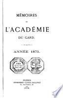 Mémoires de l'Académie de Nîmes