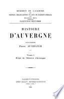 Memoires de l'Académie des sciences, belles-lettres et arts de Clermont-Ferrand