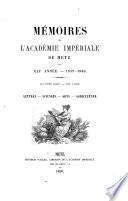 Mémoires de l'Académie impériale de Metz