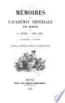 Mémoires de l'Académie nationale de Metz