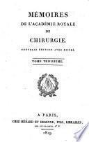 Mémoires de l'Académie royale de chirurgie