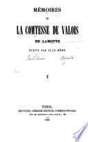 Mémoires de la comtesse de Valois de Lamotte