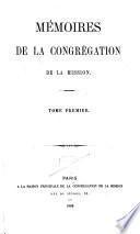 Mémoires de la Congrégation de la Mission