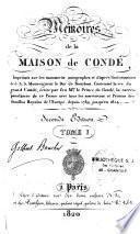 Mémoires de la Maison de Condé
