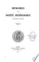 Mémoires de la Société archéologique d'Eure-et-Loir