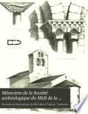 Mémoires de la Société archéologique du midi de la France
