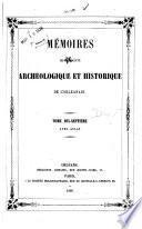 Mémoires de la Société archéologique et historique de l'Orléanais