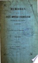 Mémoires de la Société d'agriculture, sciences et arts d'Angers