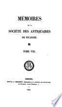 Mémoires de la Société des antiquaires de Picardie
