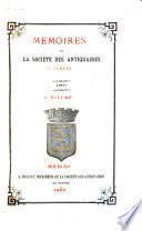 Mémoires de la Société des antiquaires du Centre