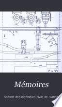 Mémoires de la Société des ingénieurs civils de France