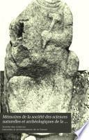 Mémoires de la société des sciences naturelles et archéologiques de la Creuse, Guberet