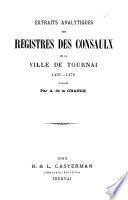 Mémoires de la Société Historique et Littéraire de Tournai