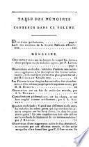 Mémoires de la société médicale d'émulation
