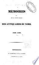 Mémoires de la Société royale des antiquaires du Nord