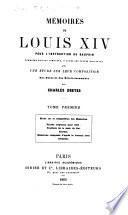 Mémoires de Louis XIV pour l'instruction du Dauphin