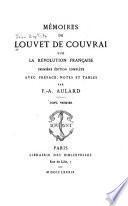 Mémoires de Louvet de Couvrai sur la révolution française