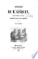 Mémoires de M. Gisquet, ancien préfet de police