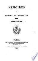 Mémoires de Madame de Campestre