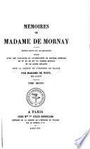 Mémoires de Madame de Mornay
