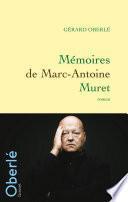 Mémoires de Marc-Antoine Muret