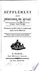 Mémoires de Maximilien de Béthune, duc de Sully, principal ministre d' Henri le Grand