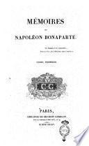 Mémoires de Napoleon Bonaparte