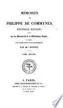 Mémoires de Philippe de Commynes