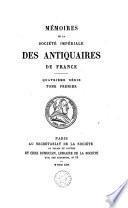 Mémoires des antiquaires de France
