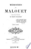 Memoires des Malouet
