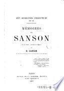 Memoires des Sanson