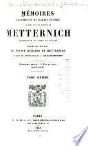 Mémoires, documents et écrits divers laissés