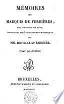 Mémoires du Marquis de Ferrières