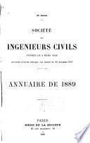 Memoires et compte rendu des travaux de la Société des Ingénieurs Civils