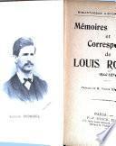 Mémoires et correspondance