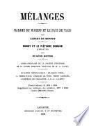 Mémoires et documents publiés par la Société d'histoire de la Suisse romande
