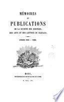 Mémoires et publications. 10