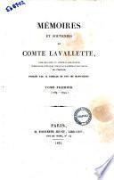 Memoires et souvenirs du Comte Lavallette