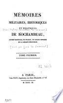 Mémoires militaires, historiques et politiques