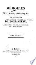 Mémoires militaries, historiques et politiques de Rochambeau