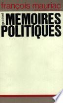 Mémoires politiques